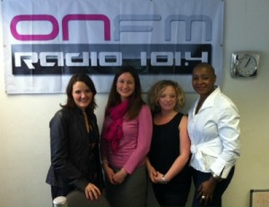 (l-r) Adele Theron, Kate Smith, Stacey Hart and Viv