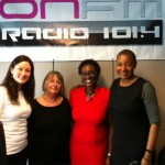 Kate Smith, Mavis Mclean, Funmi Johnson and Viv