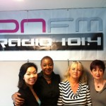 Dr Terry Loong, Viv, Amanda Dunne and Fi Ivin